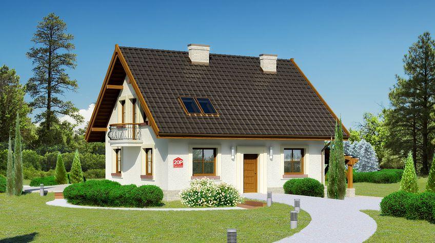 Zdjęcie 1 projektu Dom przy Cyprysowej 20 P KRK1475