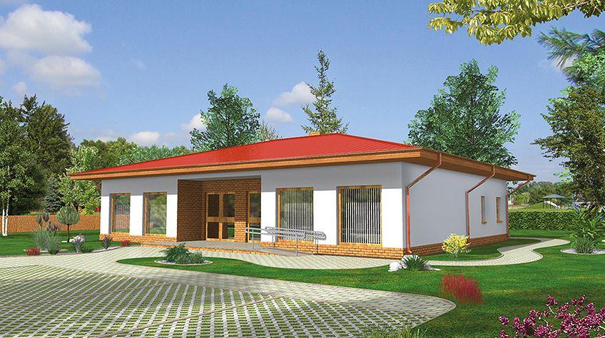 Zdjęcie 1 projektu Murator UC51b Budynek usługowy WAJ3769