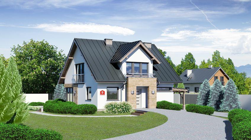 Zdjęcie 1 projektu Dom przy Wiosennej 9 KRK1481