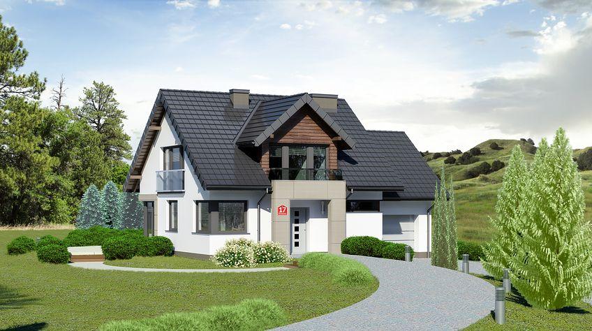 Zdjęcie 1 projektu Dom przy Wiosennej 17 KRK1488