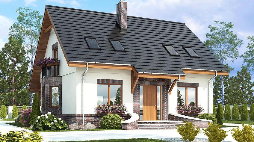 Zdjęcie 1 projektu Dom Dla Ciebie 2 bez garażu [B] WRF1824