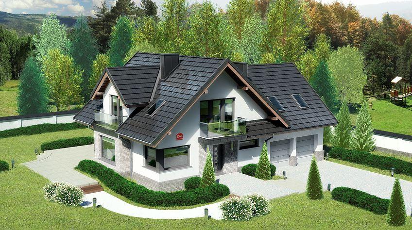 Zdjęcie 1 projektu Dom przy Cyprysowej 15 K4 KRK1506