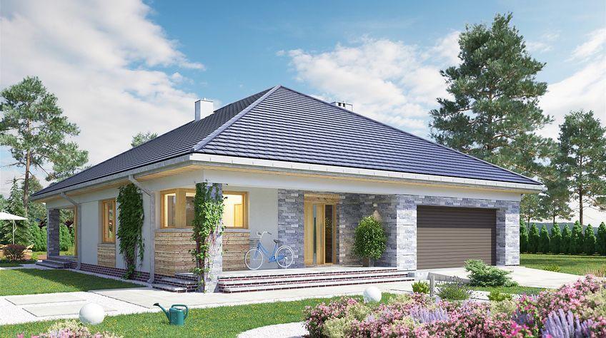 Zdjęcie 1 projektu Kordian - murowana – beton komórkowy KRD2763