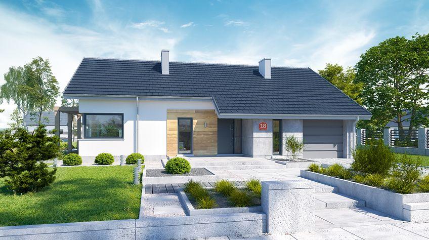 Zdjęcie 1 projektu Dom przy Przyjemnej 18 bis KRK1511