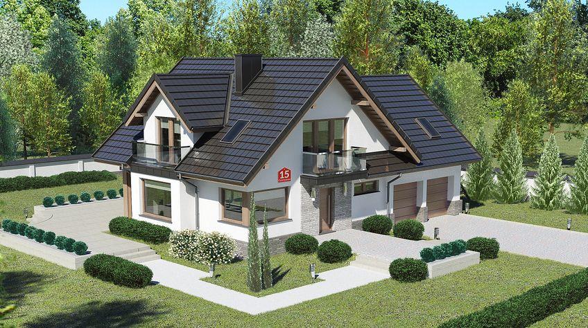 Zdjęcie 1 projektu Dom przy Cyprysowej 15 K6 KRK1523
