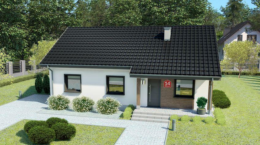 Zdjęcie 1 projektu Dom przy Bukowej 14 KRK1528