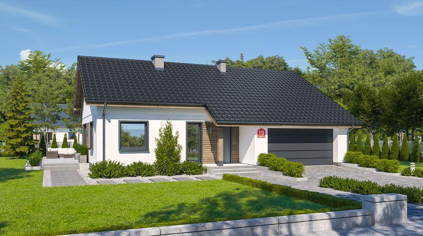 Zdjęcie 1 projektu Dom przy Przyjemnej 19 bis KRK1534