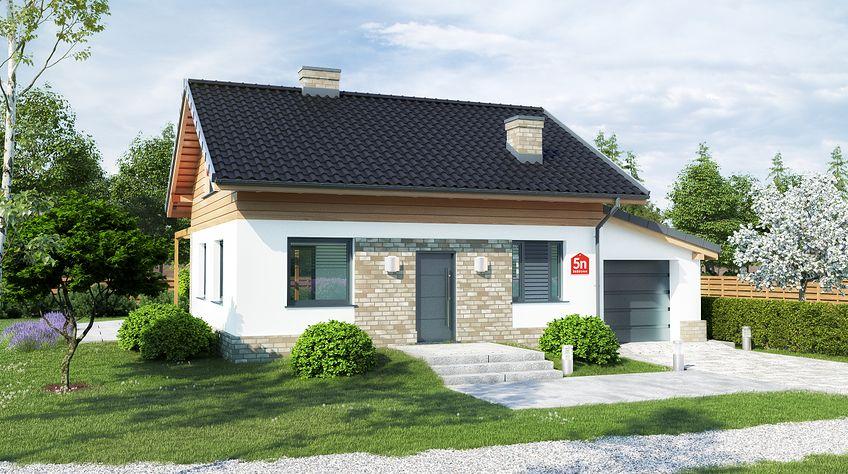 Zdjęcie 1 projektu Dom przy Imbirowej 5 N KRK1533