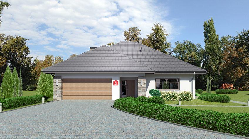 Zdjęcie 1 projektu Dom przy Kwiatowej 5 bis KRK1564