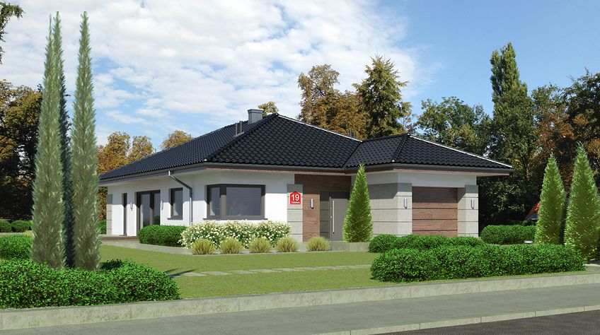 Zdjęcie 1 projektu Dom przy Pastelowej 19 KRK1568