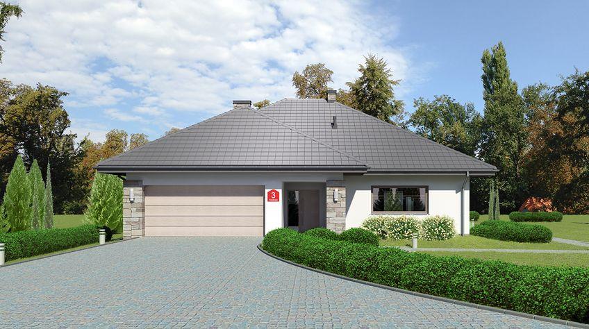 Zdjęcie 1 projektu Dom przy Kwiatowej 3 bis KRK1588