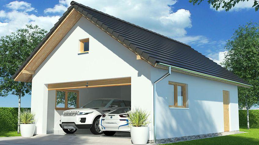 Zdjęcie 1 projektu APG 4B garaż WRR1005