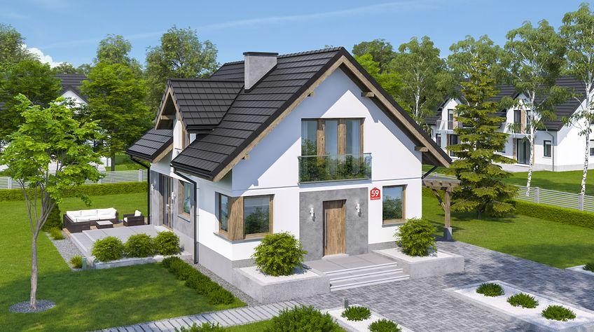 Zdjęcie 1 projektu Dom przy Cyprysowej 59 KRK1647