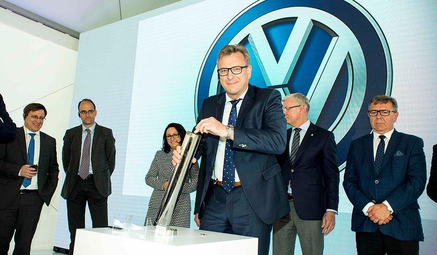 25 urodziny fabryki Volkswagena w Poznaniu