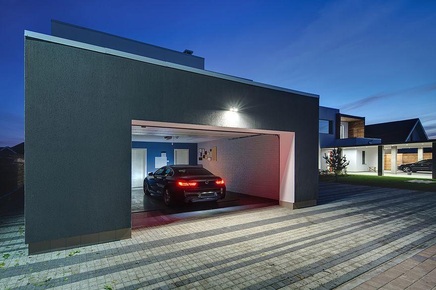 Nowoczesne garaże – marzenie każdego motomaniaka