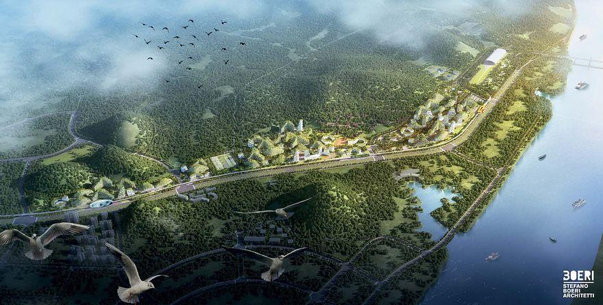 """Najbardziej """"zielone"""" miasto świata. Drzewa są wszędzie, nawet na budynkach"""