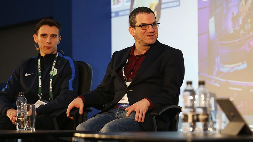 Miles Jacobson. Photo by Barrington Coombs/Getty Images for Soccerex