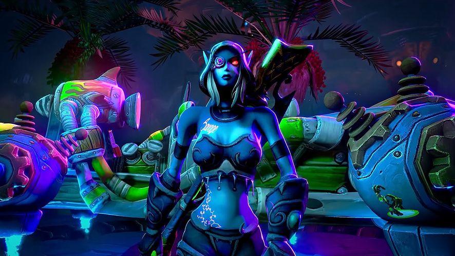 Cyberpunk 2077 x World of Warcraft