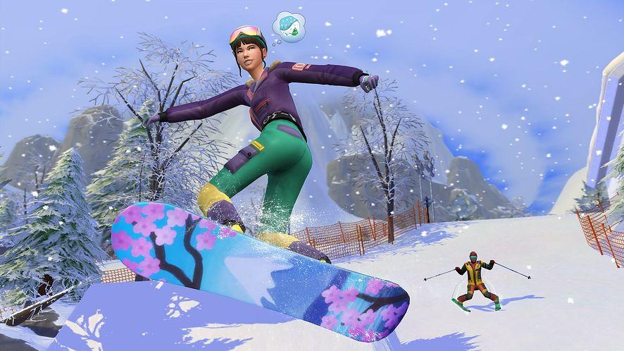 The Sims 4: Śnieżna Eskapada