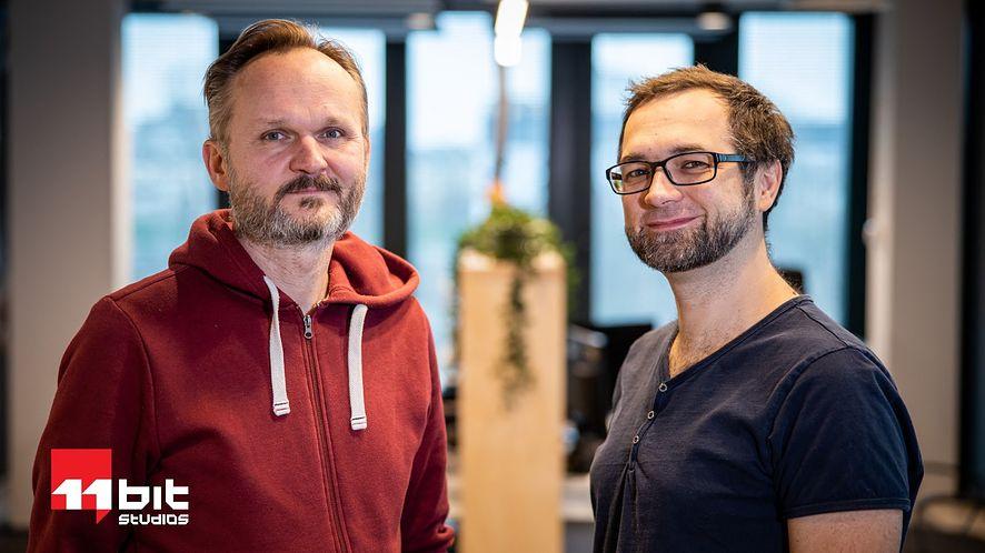 Od lewej: Grzegorz Miechowski i Przemysław Marszał.