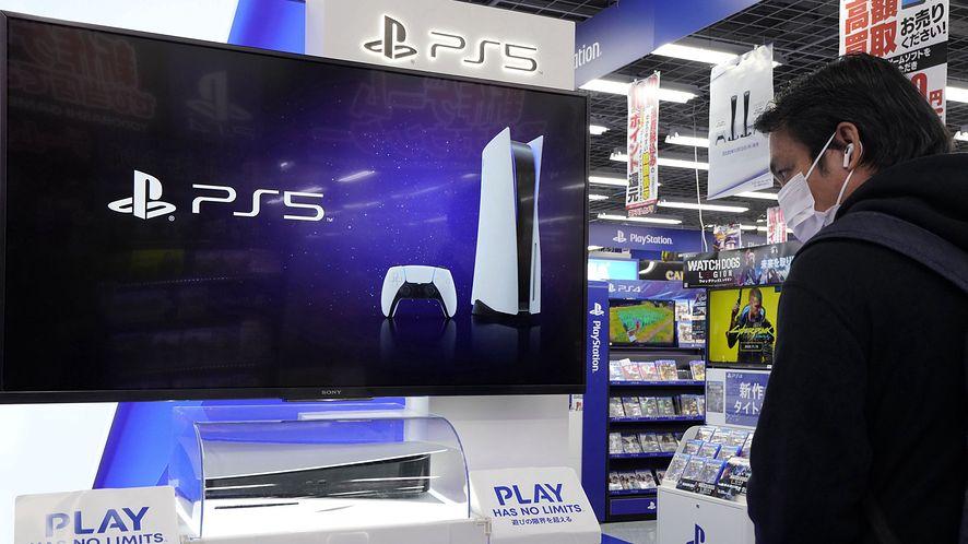 PlayStation 5 w sklepie