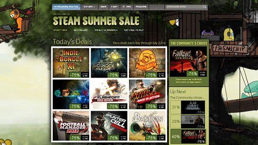Valve to mistrzowie wyprzedaży - Steam jest niczym prawdziwe centrum handlowe