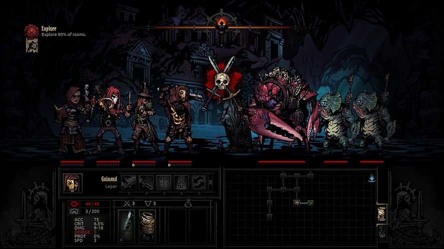 Darkest Dungeon zabierze PS4 i PS Vitę do dusznych lochów wiosną 2016 roku