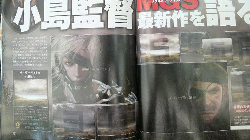 Kojima sobie robi jaja za kasę Enterbrain na łamach Famitsu