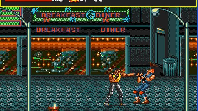 Streets of Rage na iPhone