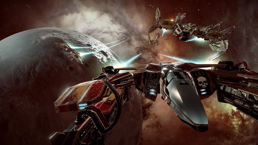 EVE: Valkyrie - recenzja. Sterylne bitwy w kosmosie