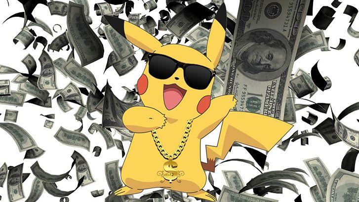 Kto zarabia na fenomenie Pokémon Go?
