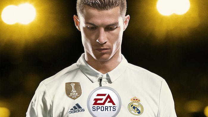 FIFA 18 z Cristiano Ronaldo na okładce i prztyczkiem w nos właścicielom Switcha