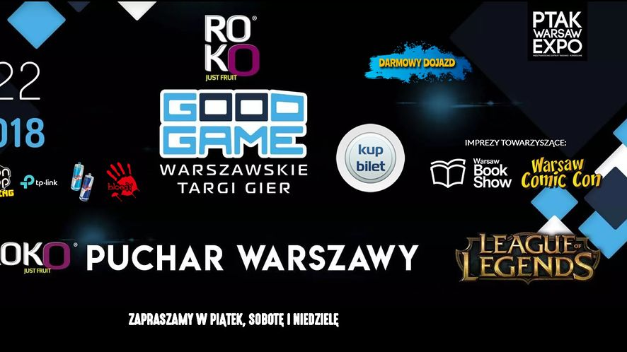 Warsaw Good Game, Warsaw Comic Con, Warsaw Book Show 2018 - relacja wideo
