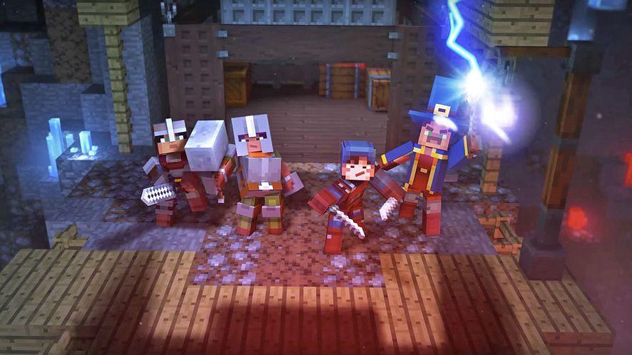 Minecraft Earth (zwany również Minecraftem GO) i Minecraft Dungeons z nowymi szczegółami