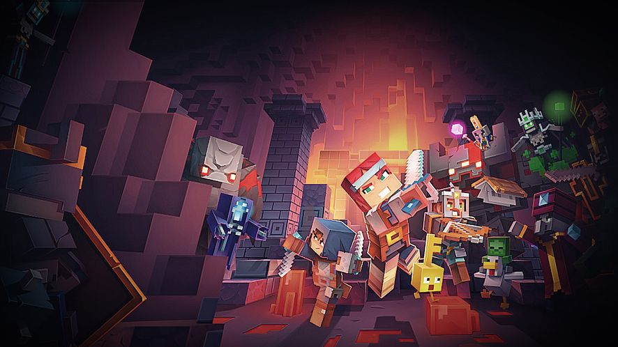 Sprawdziliśmy Minecraft Dungeons: niby familijne Diablo, ale nie do końca