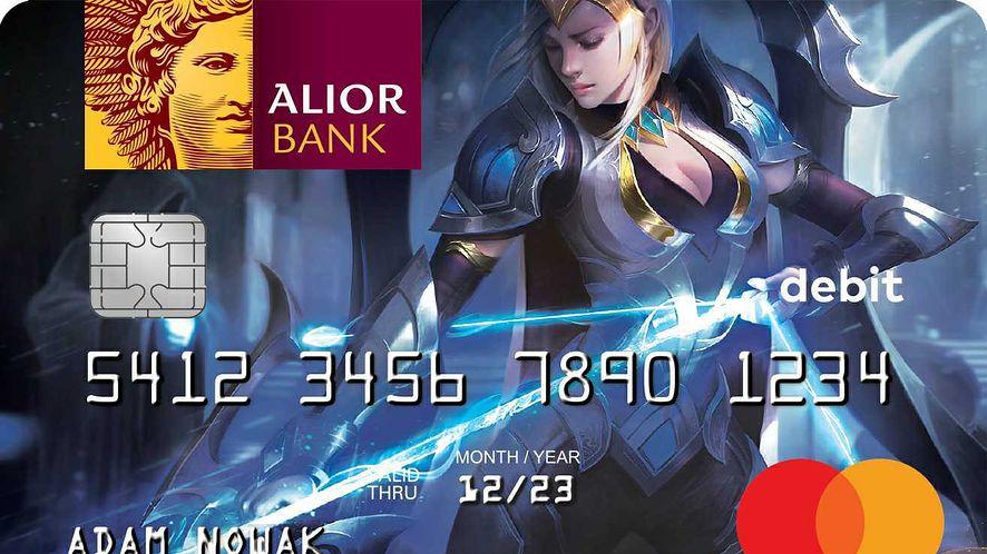 Riot Games i Alior Bank przygotowali specjalną kartę płatniczą dla graczy