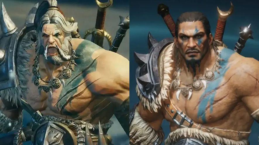 Diablo Immortal się zmienia. Barbarzyńca wygląda inaczej w wersji zachodniej i chińskiej?