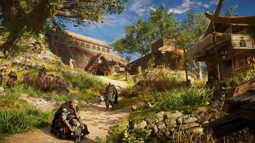 Uwaga kociarze i kociary. Jest w końcu gra dla was. Nazywa się Assassin's Creed Valhalla