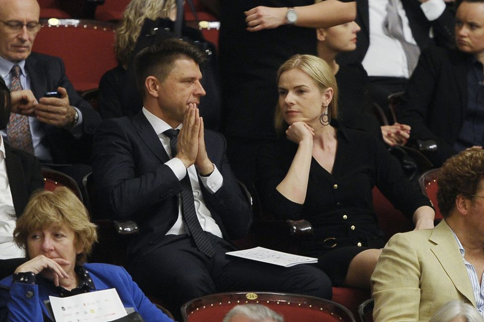 """2Ryszard Petru i """"polityczna dziewica"""" razem na koncercie"""