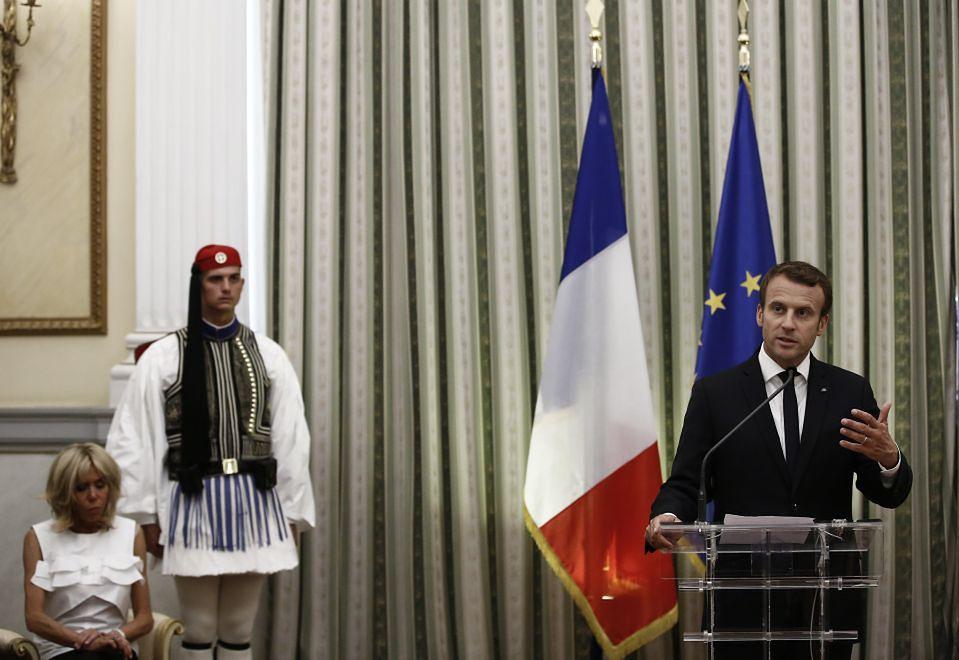 2Brigitte Macron w Grecji
