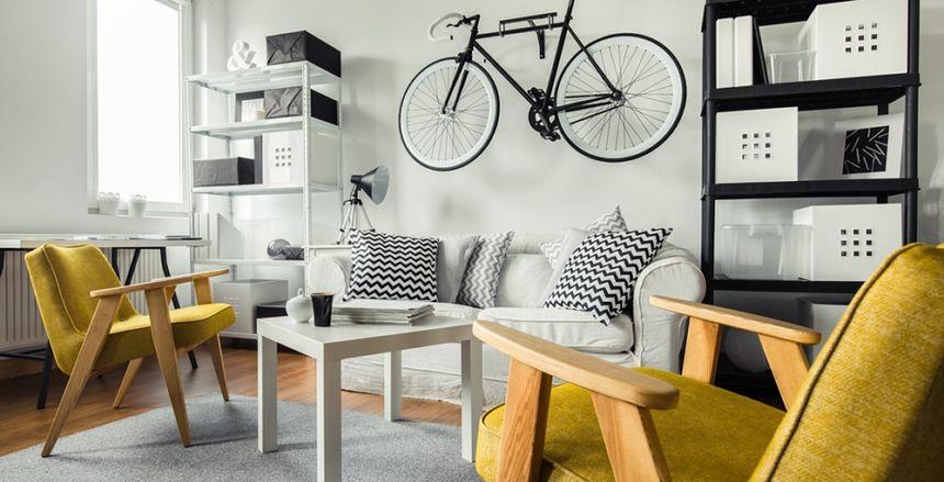 Jak i gdzie trzymać rower w małym mieszkaniu?