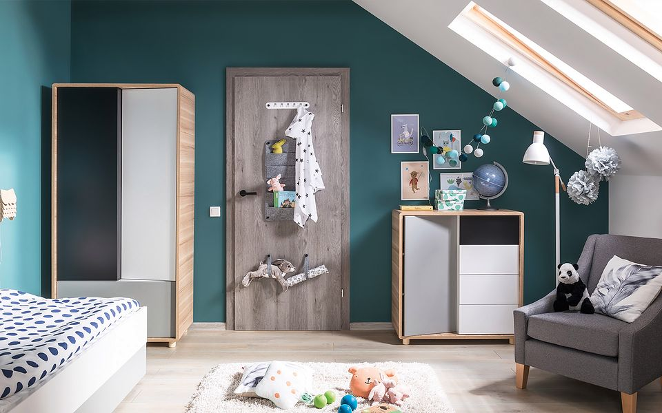 Jakie drzwi wybrać do pokoju dziecka?
