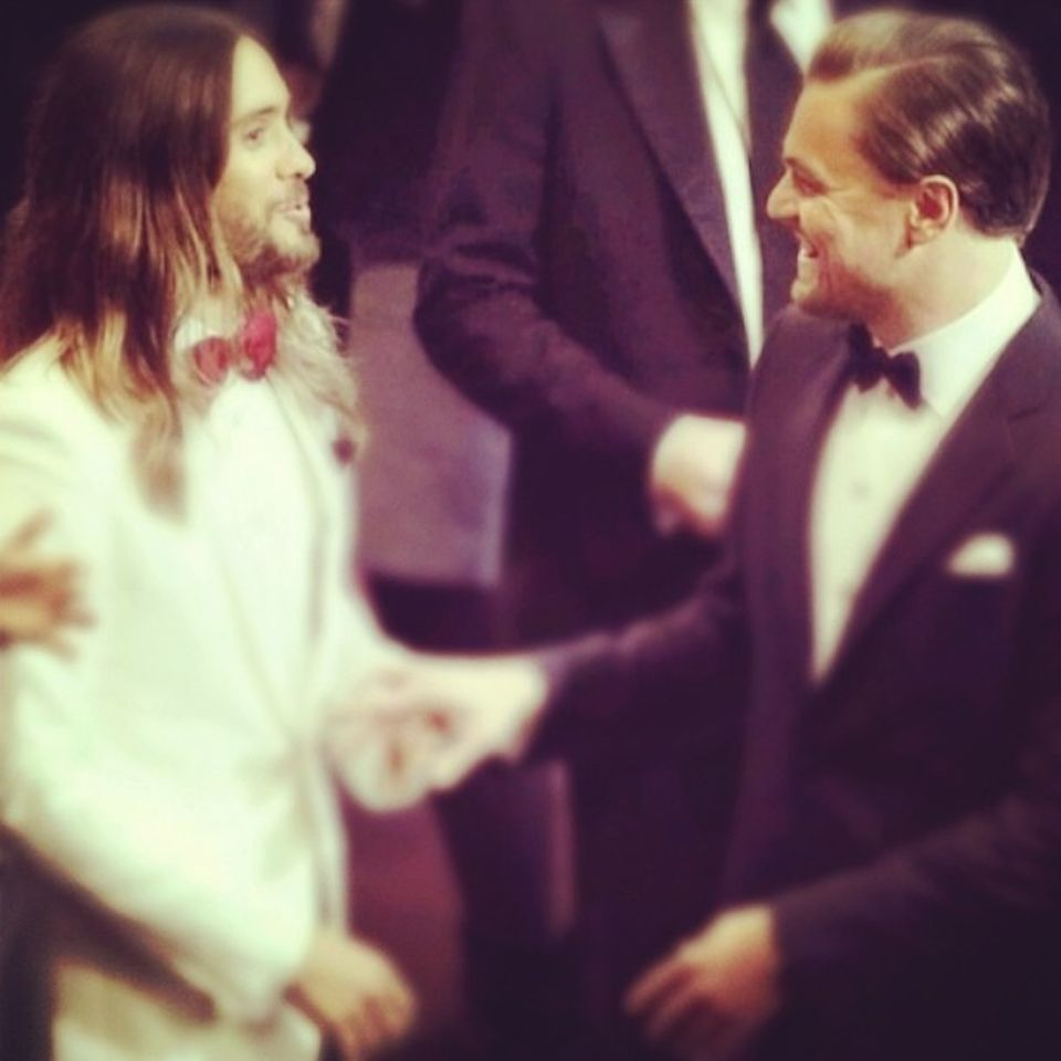 2Leonardo DiCaprio i Jared Leto
