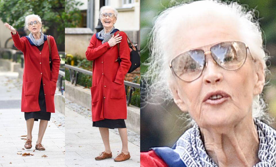 2Radosna Tyszkiewicz cieszy się emeryturą