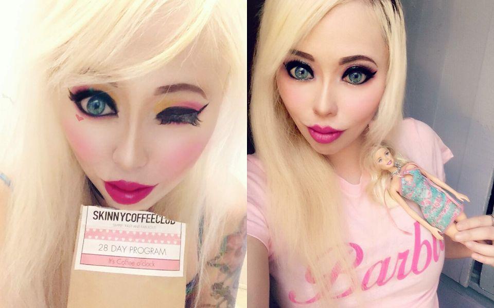 """2Oto Ophelia Vanity, amerykańska """"gotycka Barbie"""""""