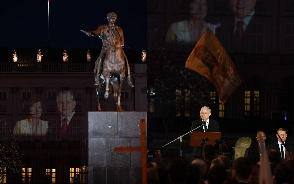 2Uczczono pamięć pary prezydenckiej