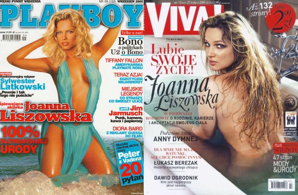 """2Joanna Liszowska: w bikini dla """"Playboya"""", dla """"Vivy"""" w wannie"""