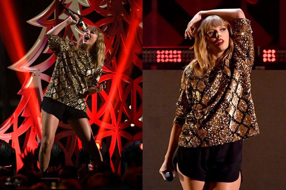 2Taylor Swift na świątecznym koncercie w Los Angeles