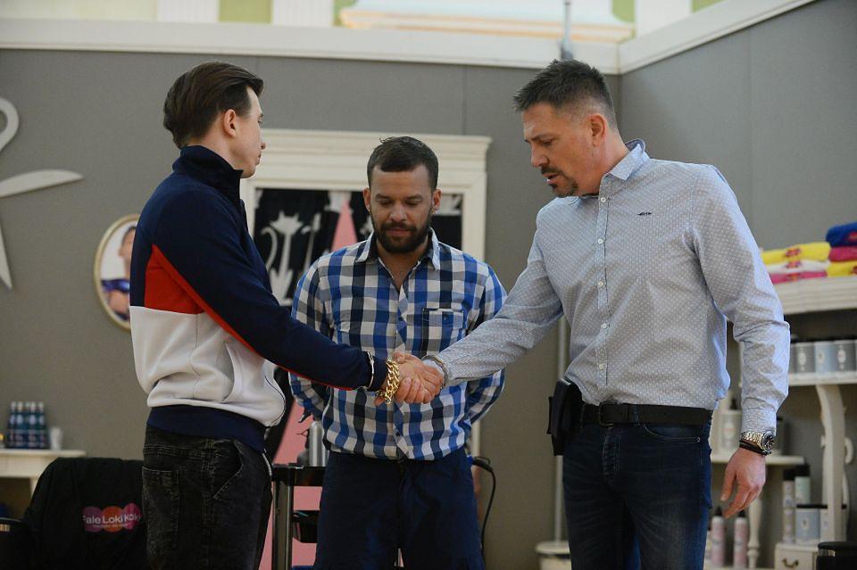 2Alan Andersz, Michał Piróg, Krzysztof Ibisz