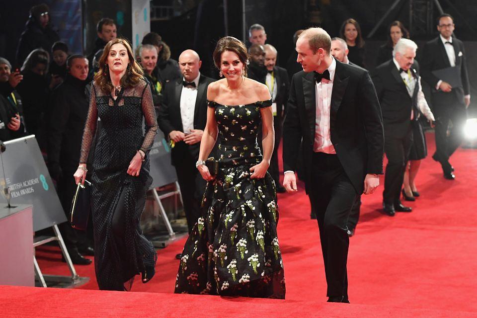 2Księżna Kate w sukience domu mody Alexander McQueen